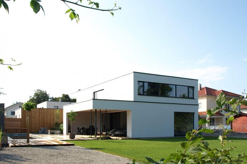 Einfamilienhaus Burghausen Fenster