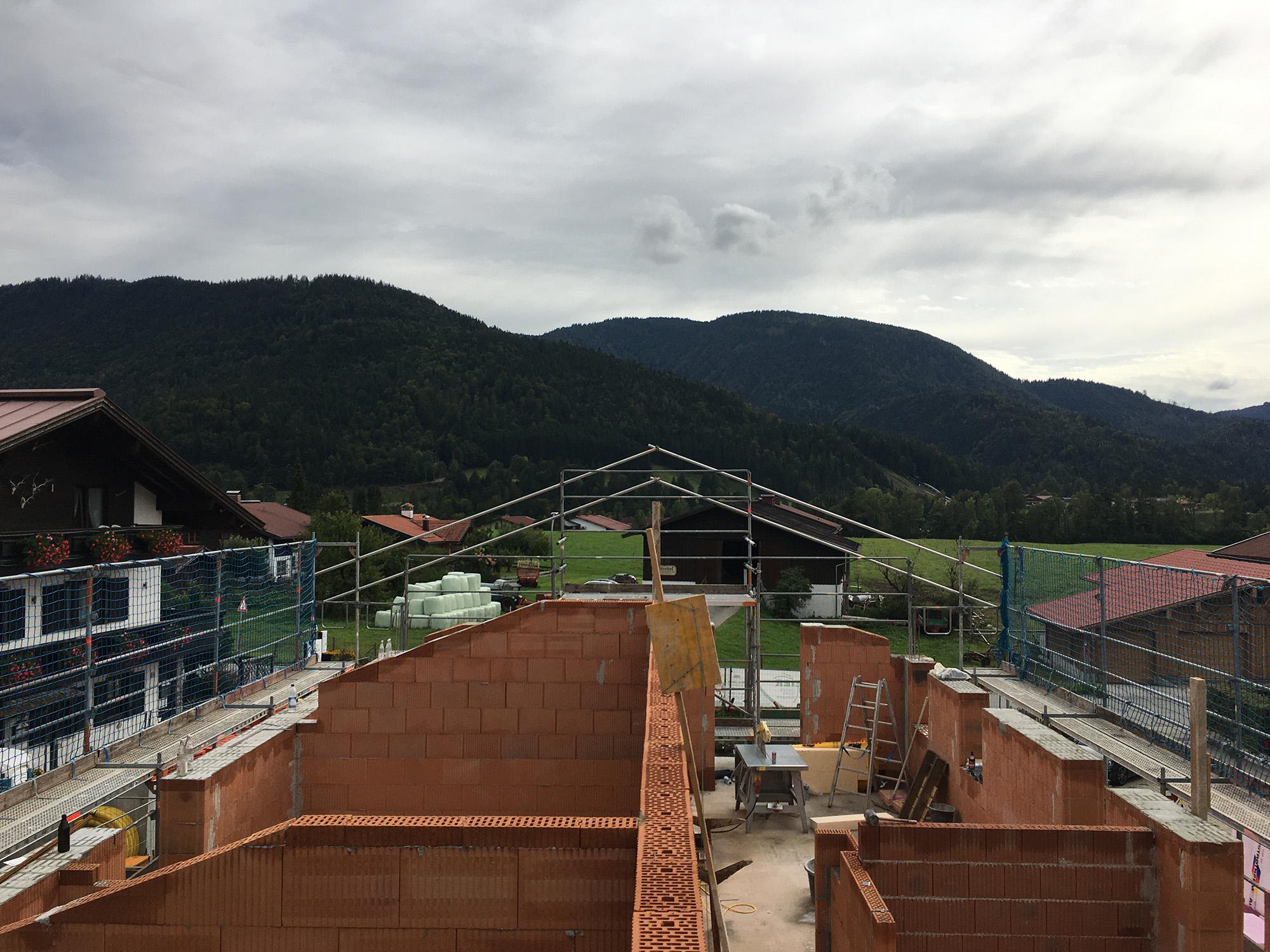 Neubau Mehrfamilienhaus in Reit im Winkl