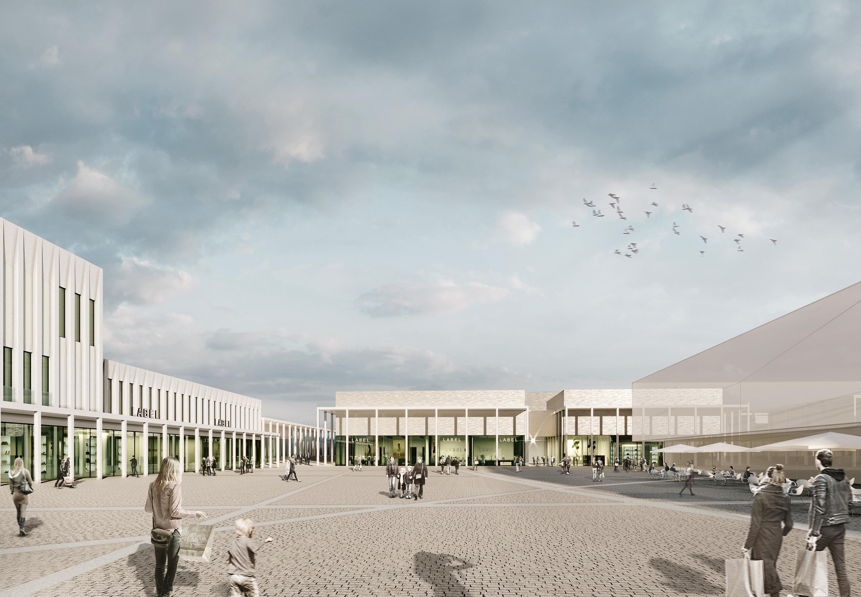 Outletcity Metzingen - Gestaltungsgutachten Fassaden für das G&V Areal in Metzingen