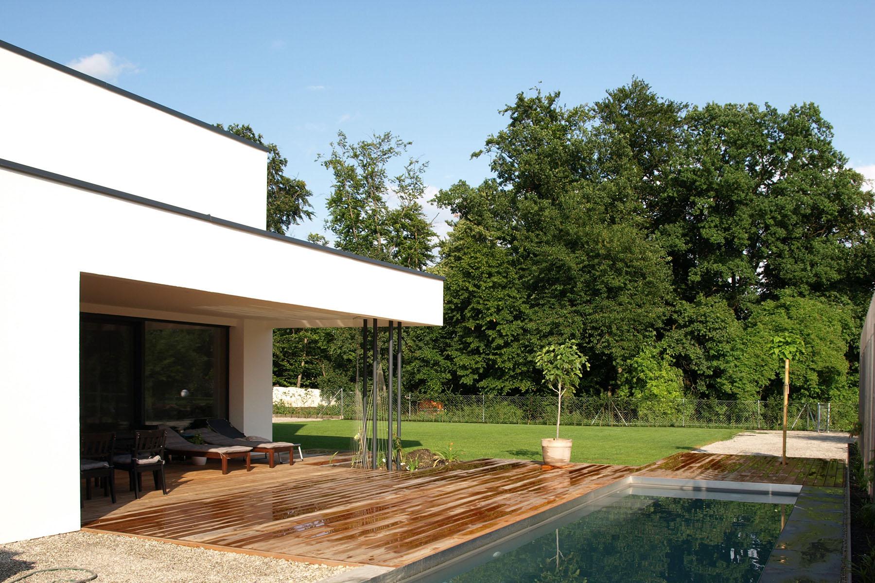 Einfamilienhaus Burghausen Garten