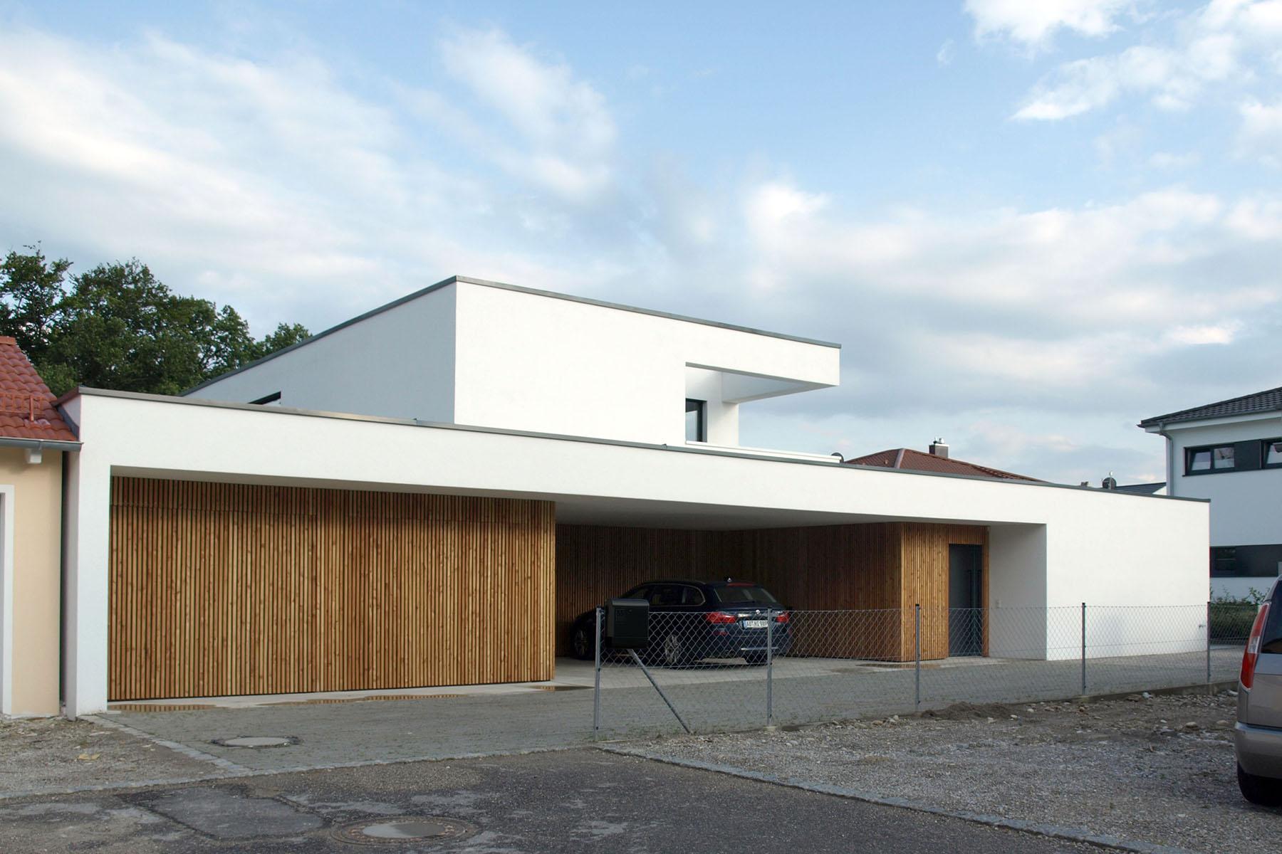Einfamilienhaus Burghausen Zufahrt